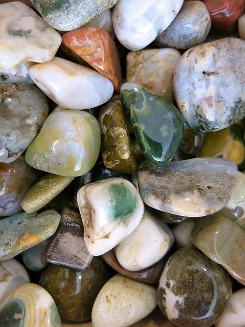 Ocean Jasper Tumble Stone