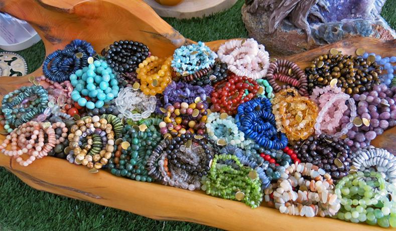 We make a lot of bracelets