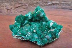 Dioptase Crystal Cluster