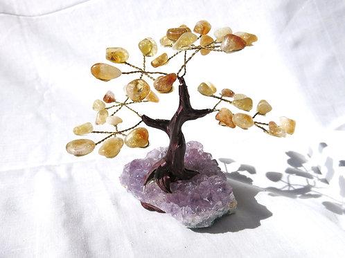 Citrine Gem Tree - small