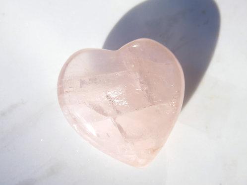 Bigger Rose Quartz Heart