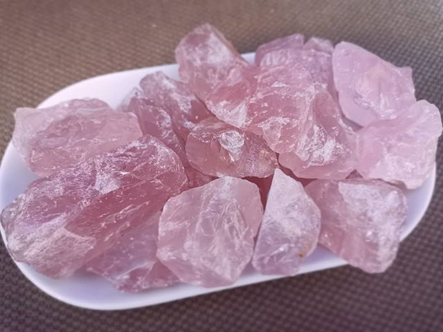 It might only be Rose Quartz but gosh ti