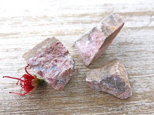 Rhodonite Raw Stone