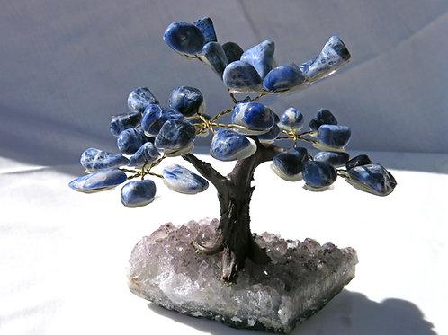 Sodalite Gem Tree - small