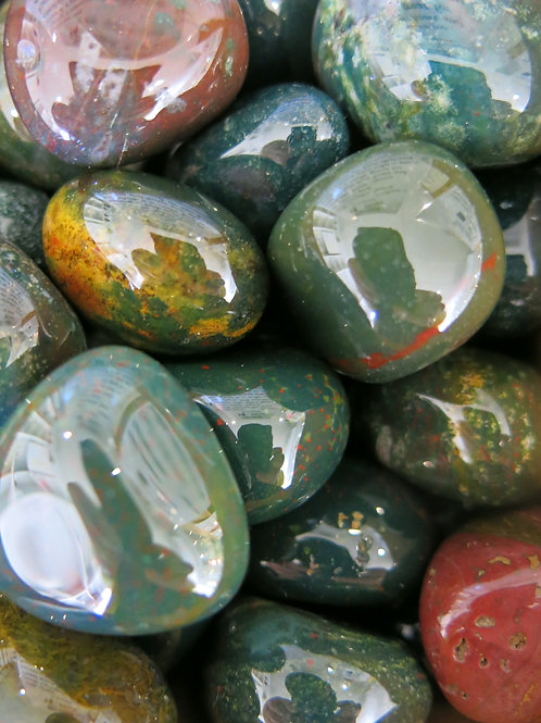Bloodstone Tumble Stone