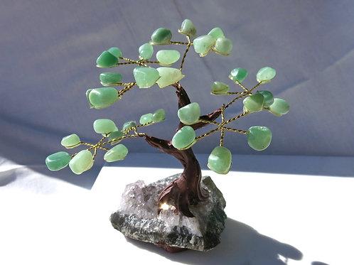 Green Aventurine Gem Tree - small
