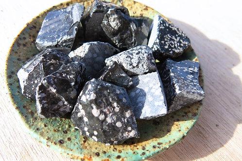 Snowflake Obsidian Stone