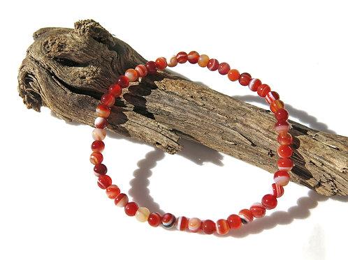 Carnelian Sardonyx Bracelet