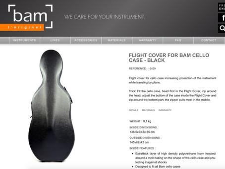 如何用最安全方式打包大提琴去托運 How to safely pack your Cello to checked|Bam cello case flight cover