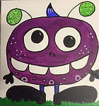 Purple People Eater for Cookies & Canvas