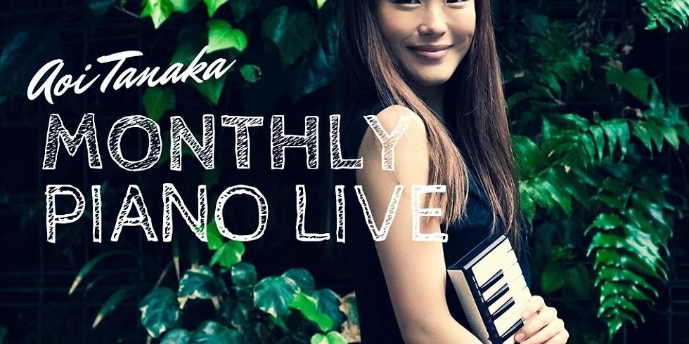 田中葵Monthly Piano Live vol.12 Final!