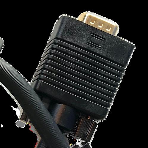 100' VGA Shielded (Copper) Cable