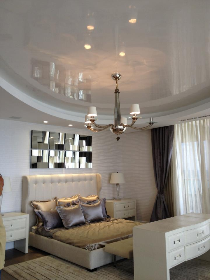 POLISHED PLASTER FEATURED CEILINGS
