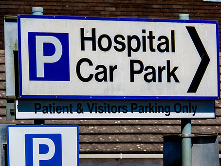 Urgent work to progress capping of carpark charges in hospitals required