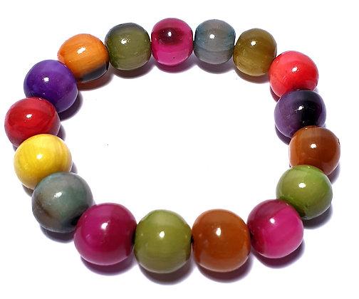 Bracelet corne petites perles
