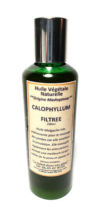 huile de calophyllum filtree