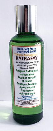 Huile végétale pour massage de KATRAFAY