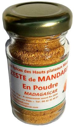 zeste de mandarine epice soleil de madagascar recto