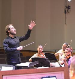 Ensaio Geral com coro e orquestra