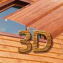 металлический сайдинг 3D