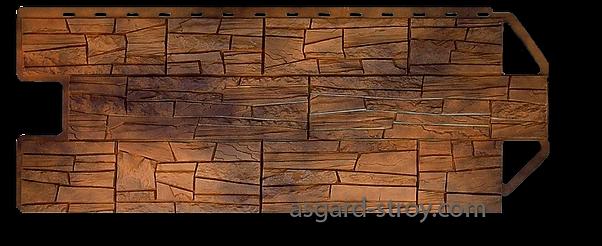 каньон канзас, альта-профиль, фасадные панели, цокольный сайдинг