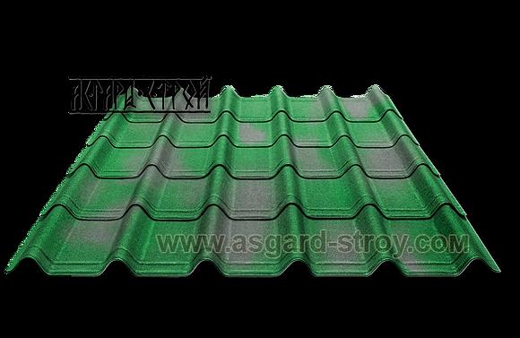 ОНДУВИЛЛА цвет Зелёный 3D