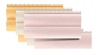 Блок-хаус альта-профиль варианты панелей
