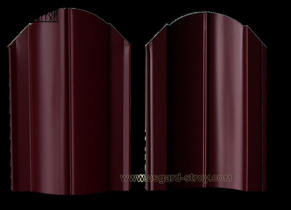 "Штакетник Европланка 0,45 RAL 3005/3005 ""Красное вино"""