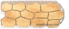 бутовый камень, греческий, альта-профиль, фасадные панели, цокольный сайдинг