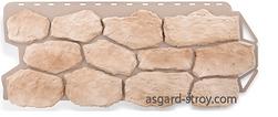 бутовый камень, нормандский, альта-профиль, фасадные панели, цокольный сайдинг