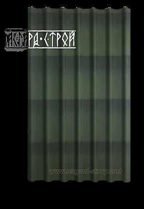 Черепица ОНДУЛИН зелёный