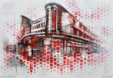 Les Halles - Roch ROBAGLIA & GRAFFMATT