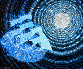 Avenutre au clair de lune - Roch ROBAGLIA