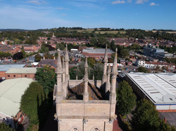 The view over Grantham