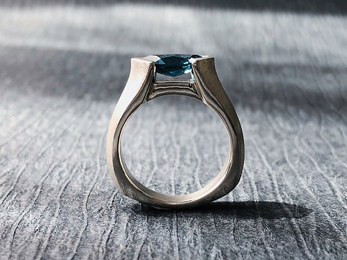 The Sideways Marquise Ring