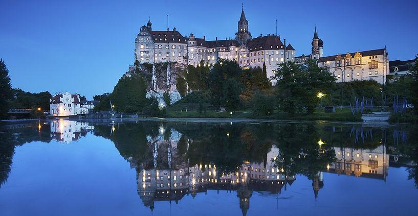 Ferienwohnung Land in Sicht in Mengen zw Bodensee und Donautal Schloss Sigmaringen1