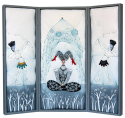 Triptychon III - eine intime Ikone