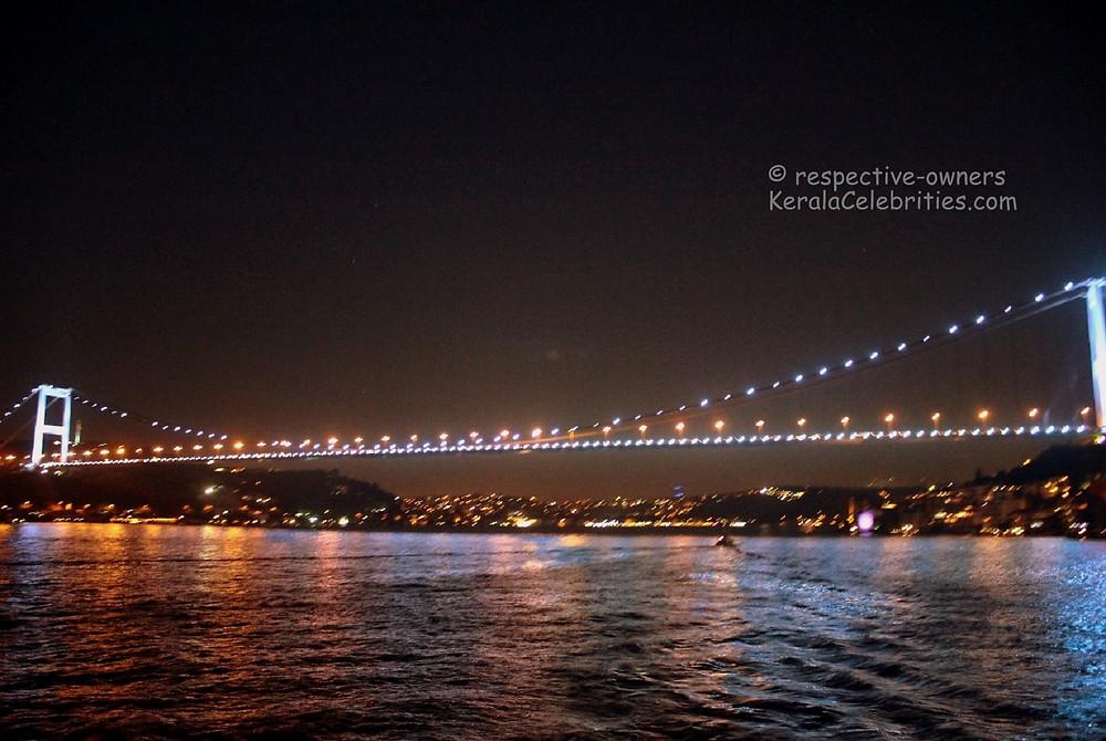 Bosphorous Bridge – a night view