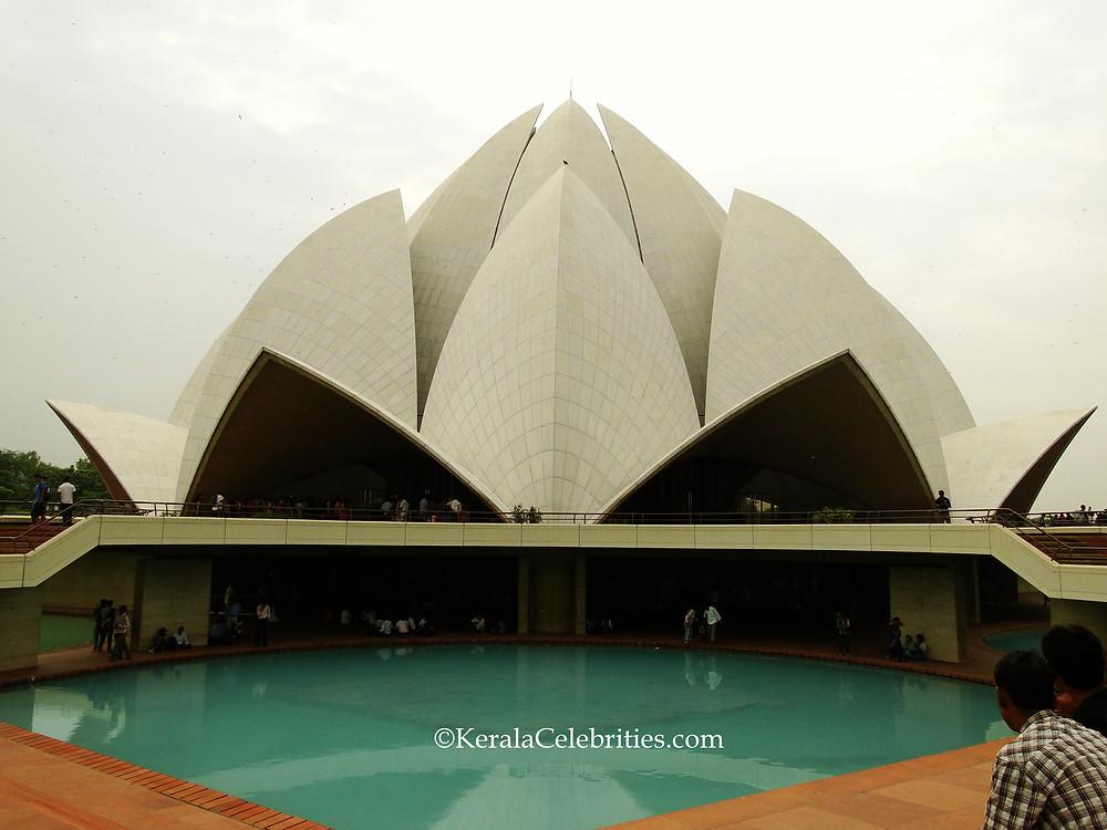 Lotus Temple Delhi - KeralaCelebrities.com