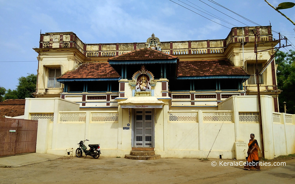 A typical Chettinad mansion which is occupied - built in 1935 in Karaikudi