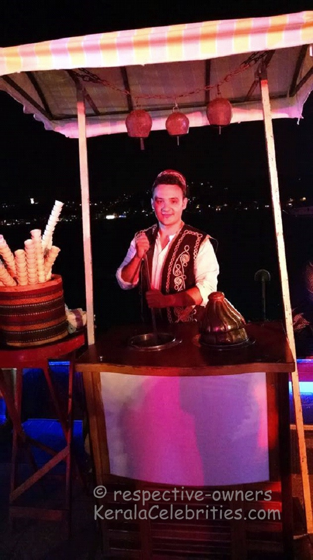 Turkish ice-cream man