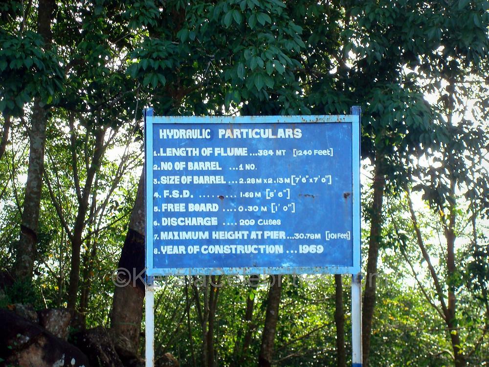 Mathur Thotti Palam (Hanging Bridge) particulars