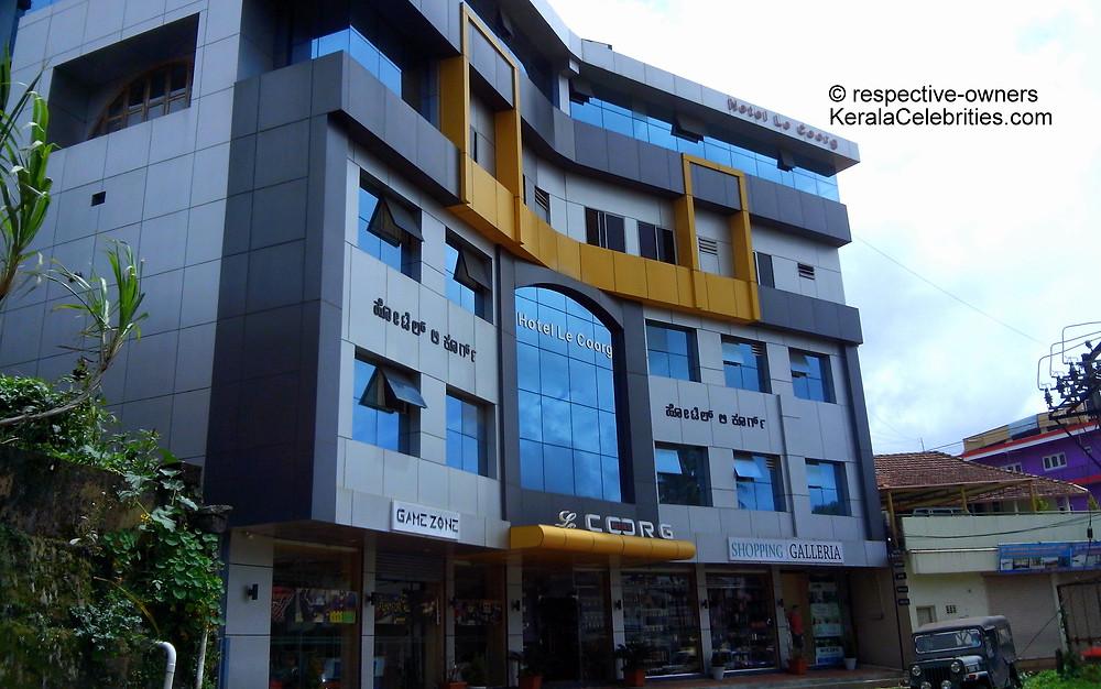 Hotel Le Coorg: KeralaCelebrities.com
