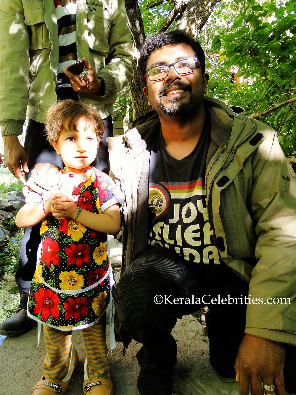 LibinsworlD with Turtuk Village kid