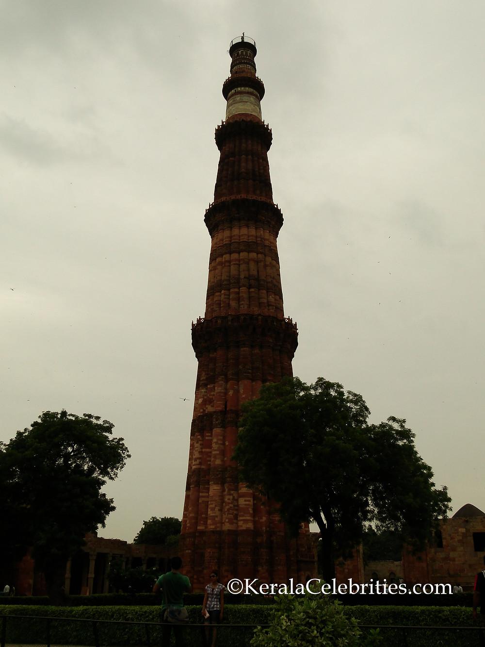 Qutb Minar full view - KeralaCelebrities.com