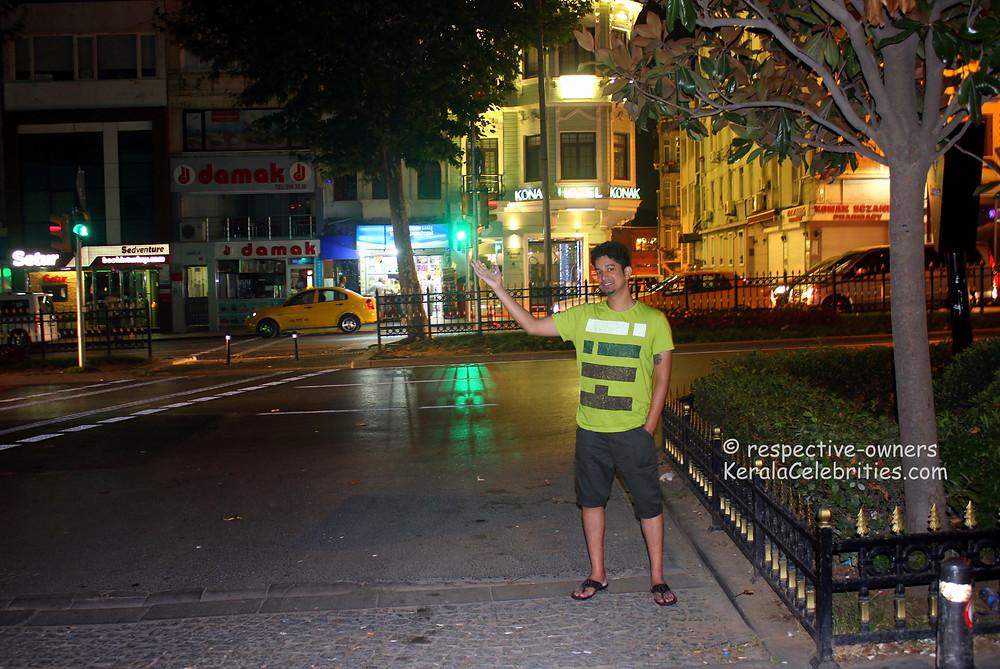 Turkish city night life