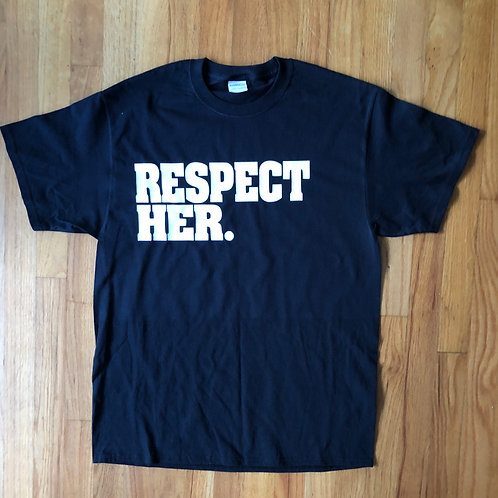 Respect Her. Bridal Shower tee