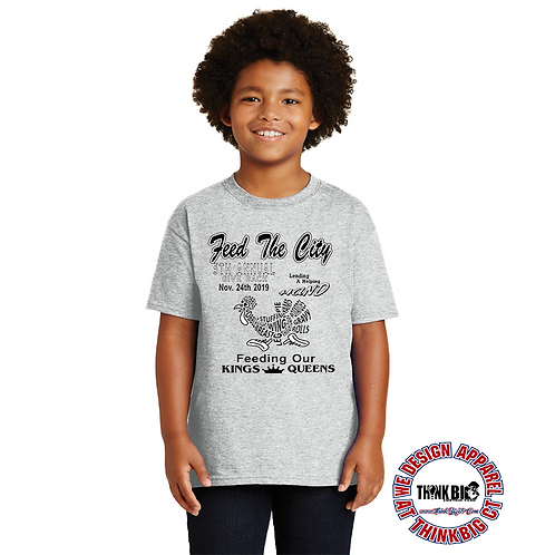 Feed The City/Front of Fundraising Tee