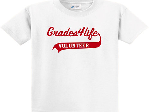 Basic tee with red Logo