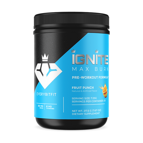 IGNITE Max Burn - Pre Workout and Energy